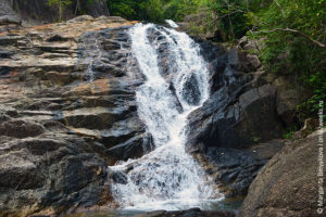 than prawet waterfal phangan