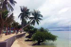 Haad Rin Nai beach Phangan