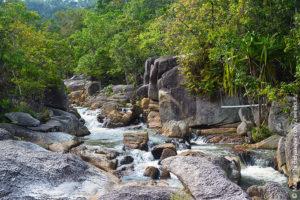 Than Sadet waterfall phangan
