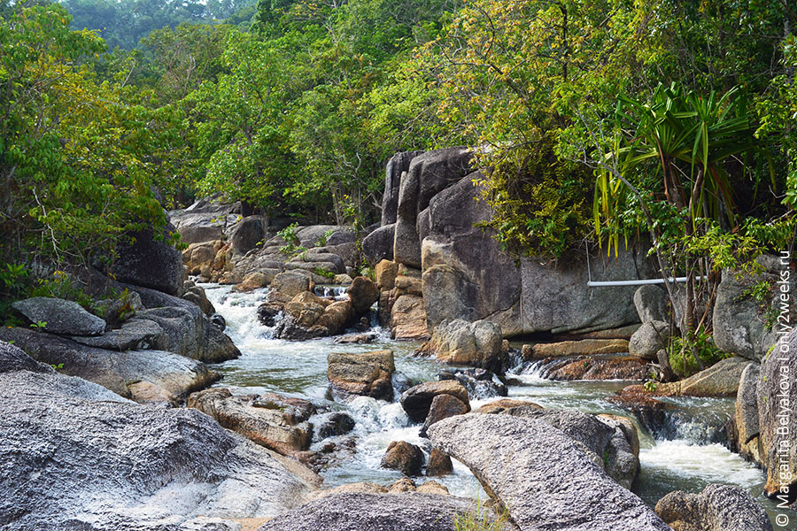 Than Sadet waterfall phangan