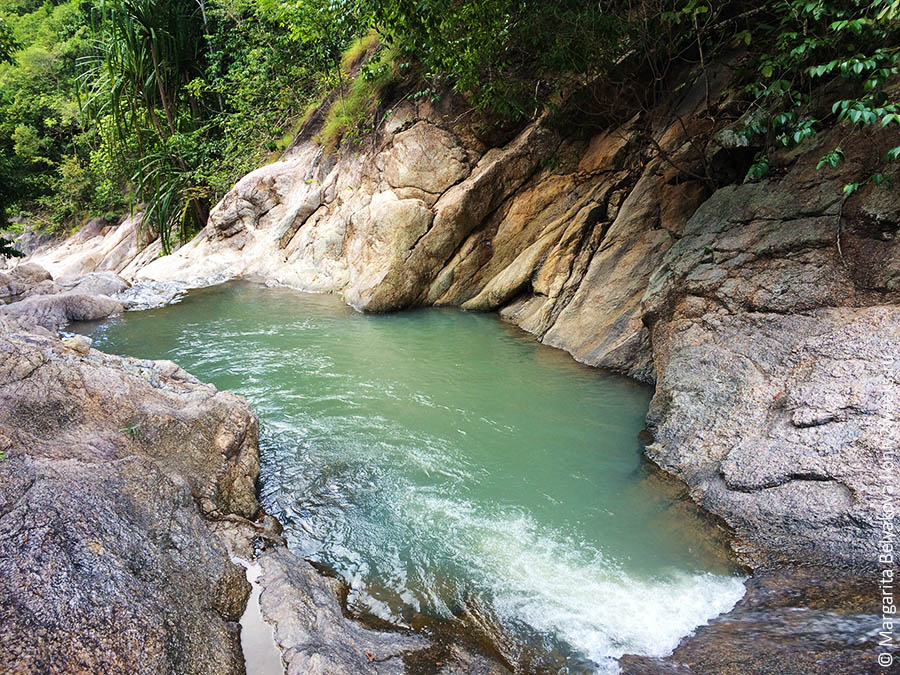 Wang Sai Waterfall phangan