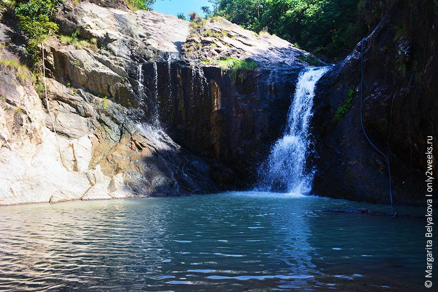 Wang Sai Waterfall phangan