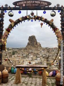 krepost-ortakhisar-kappadokiya